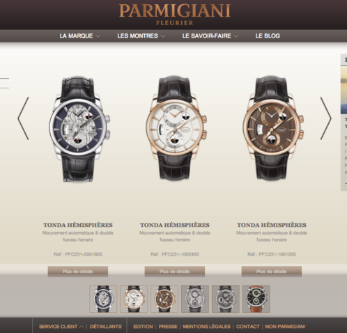 Parmigiani Fleurier - Collection