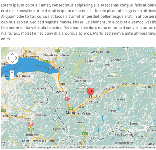 Gmap Stylizer - Exemple