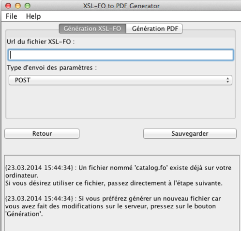 Preferences - XSL-FO generation